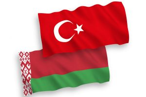 Turkey & Belarus flags