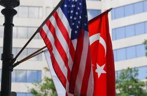 USA & Turkey flags