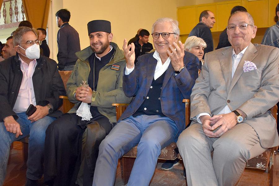 Raffi Garibian, Ter Hovhanes, Jan Sedef, Vahe Gabrash