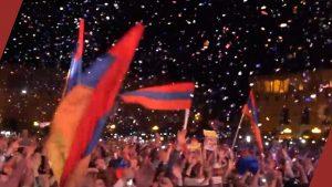 Velvet revolution Yerevan