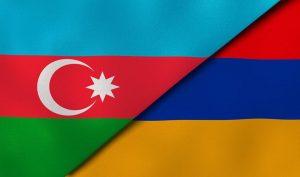 Armenia & Azerbaijan flags