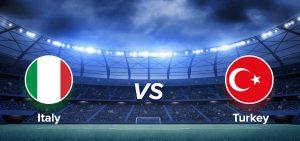 Italy vs turkey football
