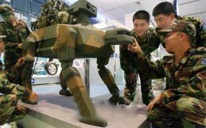 S. Korea millitary robots