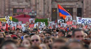protest Yerevan 2018