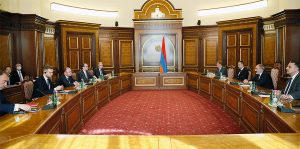 Pashinyan & EU ministers