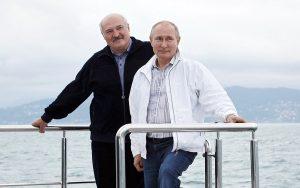 Putin & Lukashenko