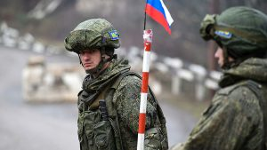 russian peacekeepers Artsakh