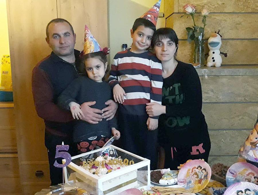 Baghdasaryan family