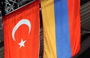 Turkey & Armenia flags