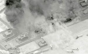 US airstrike Iraq Syria border