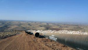 gas pipeline Igdir-Nakhchivan