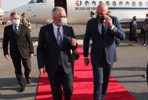 Charles Michel in Yerevan