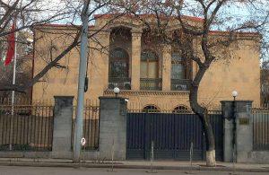 China embassy in Yerevan