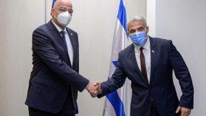 Nikos Dendias & Yair Lapid