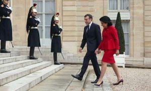 Macron & Zourabishvili