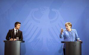 Merkel & Zelensky