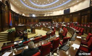 Parliament session, Armenia