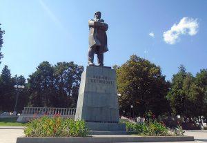 S. Shahumyan monument in Stepanakert