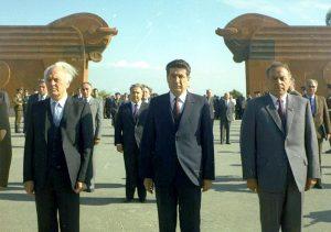 Shevardnadze, Demirchyan, Aliyev
