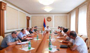 Artsakh president