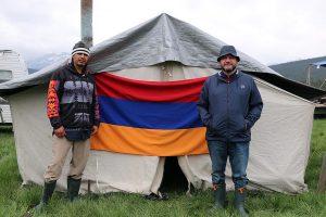 cree & armenian flag