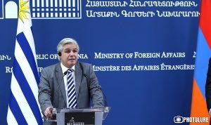 Foreign Minister of Uruguay Francisco Bustillo