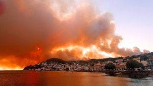 Greece fire