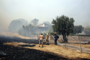 Athens fire