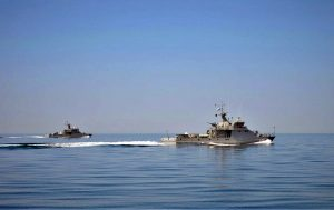 military exercises in the Caspian Sea