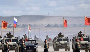 Russia & China army