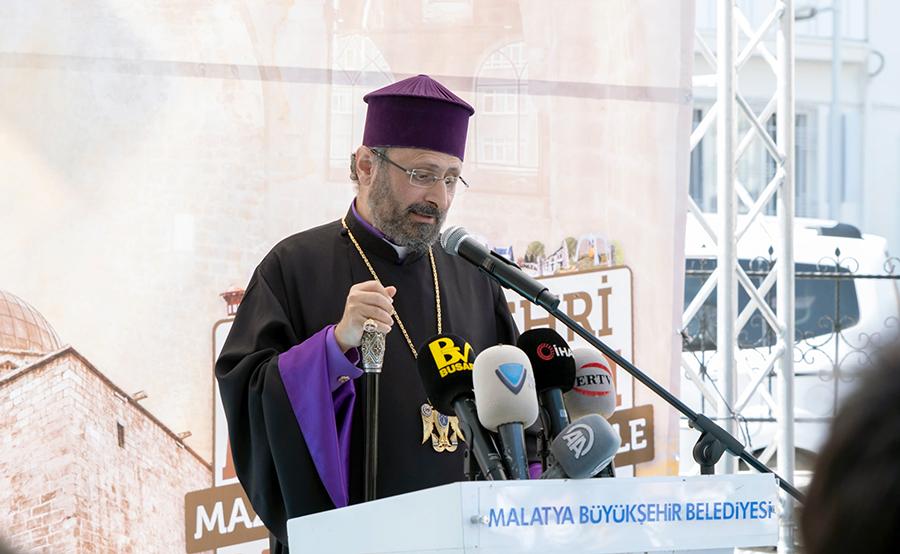 archbishop Sahak Mashalian