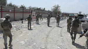 Turkey army in Kabul