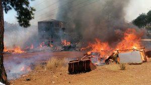 Turkey fire