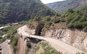 Vanadzor-Alaverdi road
