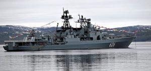 Russian destroyer Vice-Admiral Kulakov