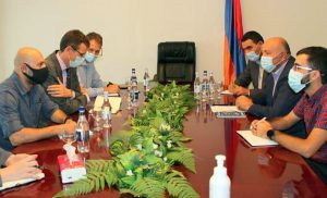 US Deputy Ambassador to Armenia Chip Laitinen