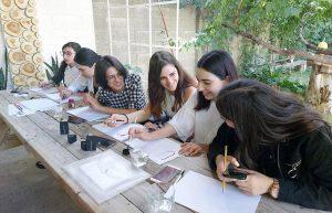 Gyumri calligraphy project