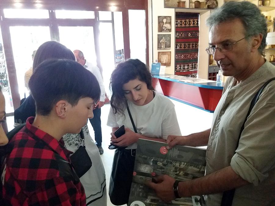 Gyumri Exhibition book