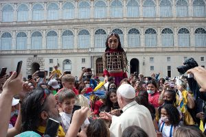Pope Francis & Little Amall