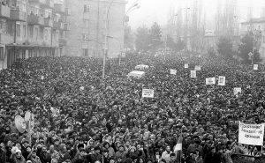 Protest in Armenia 1988