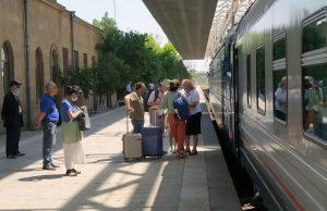 Yerevan-Tbilisi train