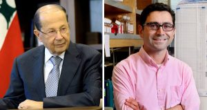 Ardem Patapoutian & Michel Aoun
