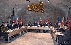 Azerbaijan, Georgia, Turkey militarys