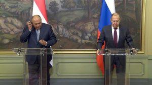 Sergey Lavrov & Sameh Shoukry