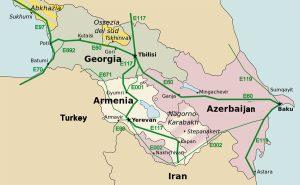 Caucasus roads