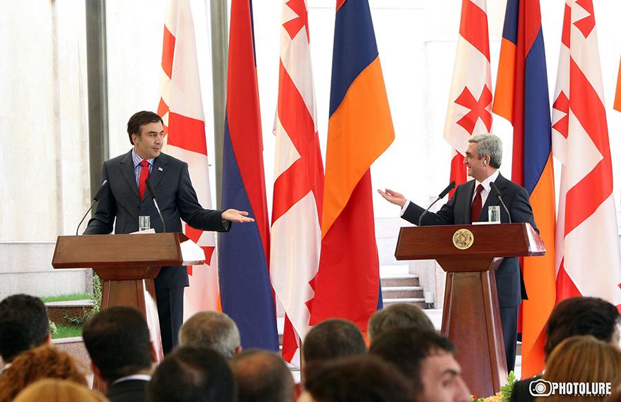 Saakashvili & Sargsyan